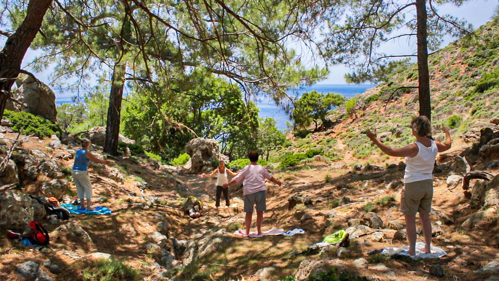Qigong auf Kreta